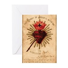 Sacred Heart of Jesus Greeting Cards (Pk of 20)