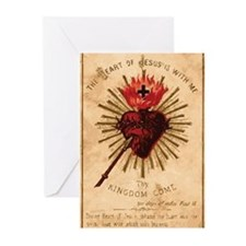 Sacred Heart of Jesus Greeting Cards (Pk of 10)