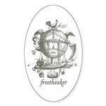 Freethinker Oval Sticker