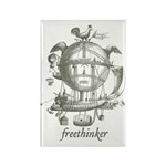 Freethinker Rectangle Magnet (10 pack)