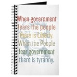 Jefferson Tyranny Quote Journal
