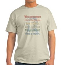 Jefferson Tyranny Quote T-Shirt