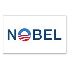 Nobel - Rectangle Sticker 50 pk)