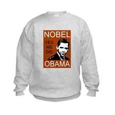 Nobel Peace Prize Obama Sweatshirt