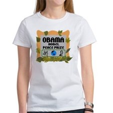 Obama Nobel Leaves Tee