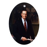 George H. W. Bush Christmas Ornament