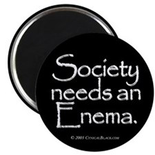 "Society 2.25"" Magnet (100 pack)"