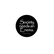 Society Mini Button