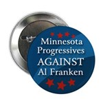 Minnesota Progressives Against Franken button