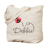Ladybug Debbie Tote Bag