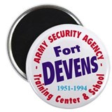 Ft. Devens ASA School Magnet