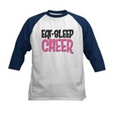 Eat Sleep Cheer Tee