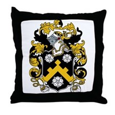 Cornish Coat of Arms Throw Pillow