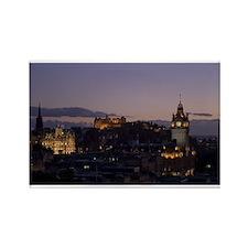 Illuminated Edinburgh Rectangle Magnet