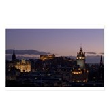 Illuminated Edinburgh Postcards (Package of 8)