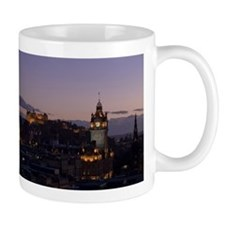 Illuminated Edinburgh Taza