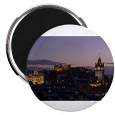 Illuminated Edinburgh Magnet