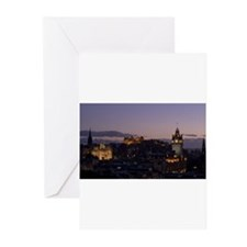 Illuminated Edinburgh Greeting Cards (Pk of 10)