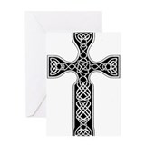 Celtic Cross of Scotland Greeting Card