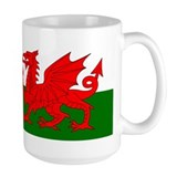 Flag of Wales (Welsh Flag) Coffee Mug