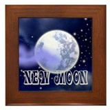 New Moon Night Sky Framed Tile