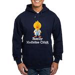 Family Medicine Chick Hoodie (dark)