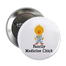 "Family Medicine Chick 2.25"" Button (100 pack)"