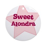 Sweet Alondra Ornament (Round)