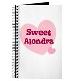 Sweet Alondra Journal