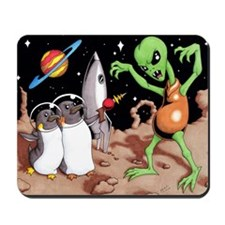 Flash Penguin Mousepad