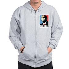 Obama Peace Prize Zip Hoodie