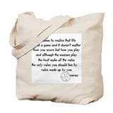pennywise lyrics 1 Tote Bag