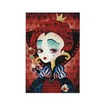 Queen of Hearts Rectangle Magnet