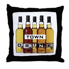 PASS THE BOTTLE PLEASE Throw Pillow