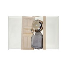 Unique Knock Rectangle Magnet (100 pack)