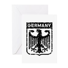 Germany Coat Of Arms Greeting Cards (Pk of 10)