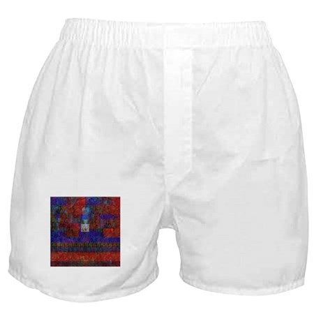 chemgenred by Pepin Lachance Boxer Shorts