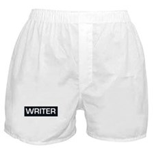Unique Writer Boxer Shorts