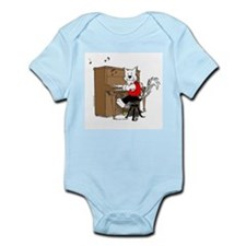 Piano Cat Apparel Infant Bodysuit