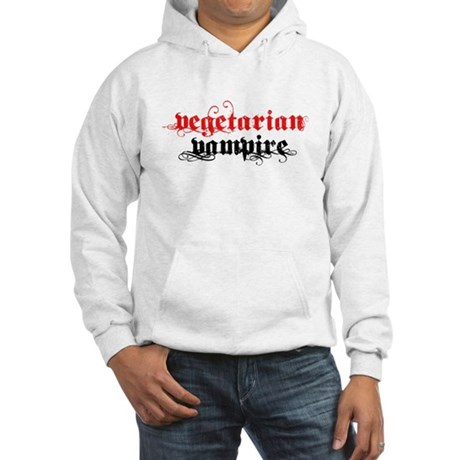 Vegetarian Vampire Hooded Sweatshirt