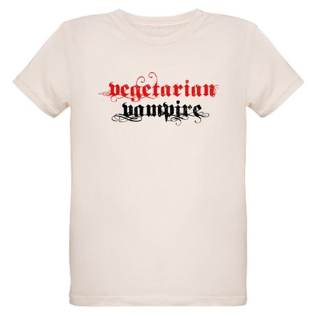 Vegetarian Vampire Organic Kids T-Shirt