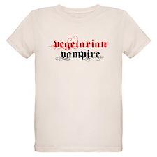 Vegetarian Vampire Organic Kids T-Shirt
