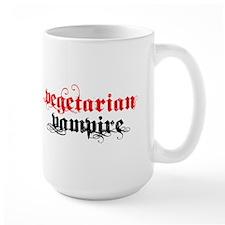 Vegetarian Vampire Large Mug