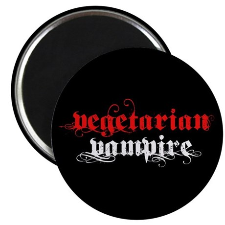 Vegetarian Vampire 2.25&quot; Magnet (100 pack)