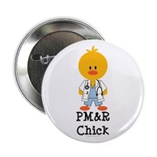 "PM&R Chick 2.25"" Button (100 pack)"