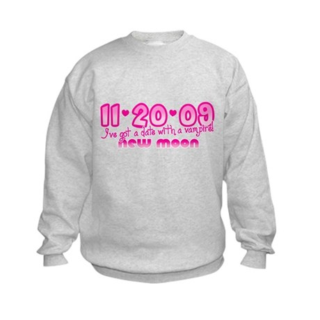 New Moon Edward Kids Sweatshirt