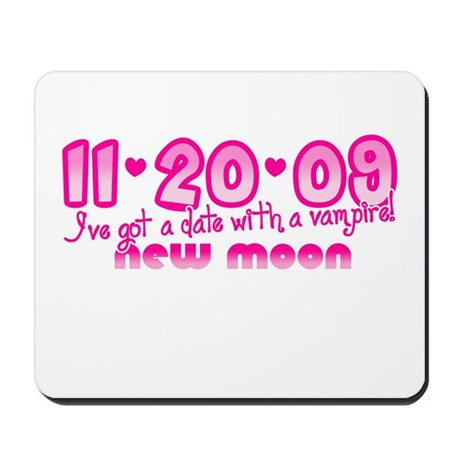 New Moon Edward Mousepad