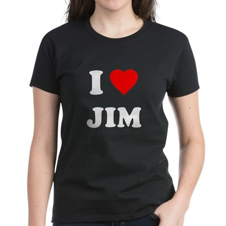 I Love Jim Womens T-Shirt
