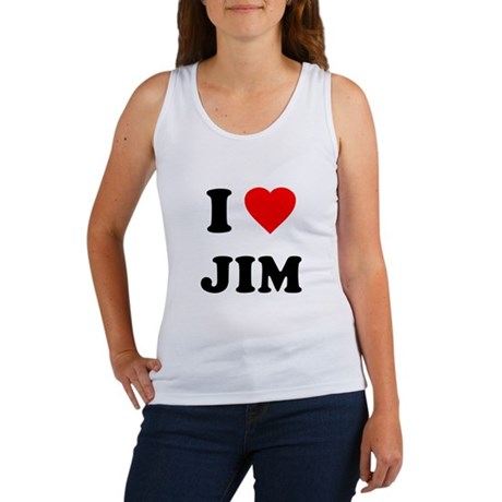 I Love Jim Womens Tank Top
