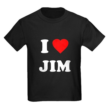 I Love Jim Kids T-Shirt